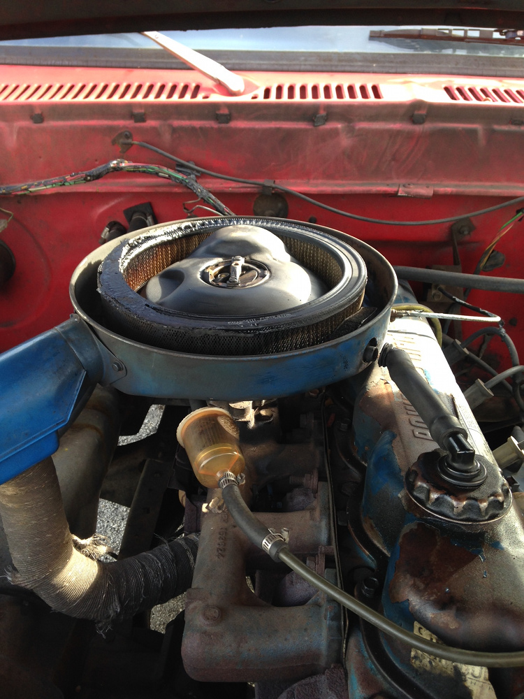 Possible causes for Carburetor Fire? - Ford Truck